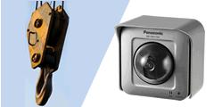 作業漏れや進行具合を確認するために陸橋工事現場にカメラを設置した事例