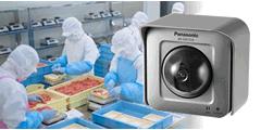防犯・指導の記録のために食品製造加工工場にカメラを設置した事例