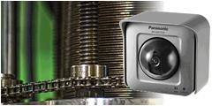製造ライン監視・記録のために自動車関連工場にカメラを設置した事例