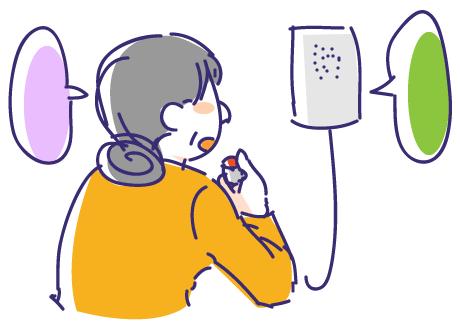 相互通話も可能な居室用呼出しボタン