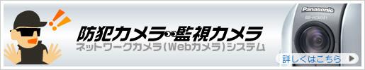 ネットワークカメラ(防犯カメラ・監視カメラ)