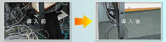 LAN配線整理イメージ図