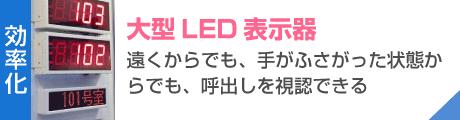 大型LED表示器