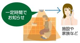 トイレ残留者センサー