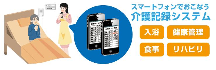 スマートフォン連動ナースコールシステム