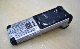 防水加工携帯 画像