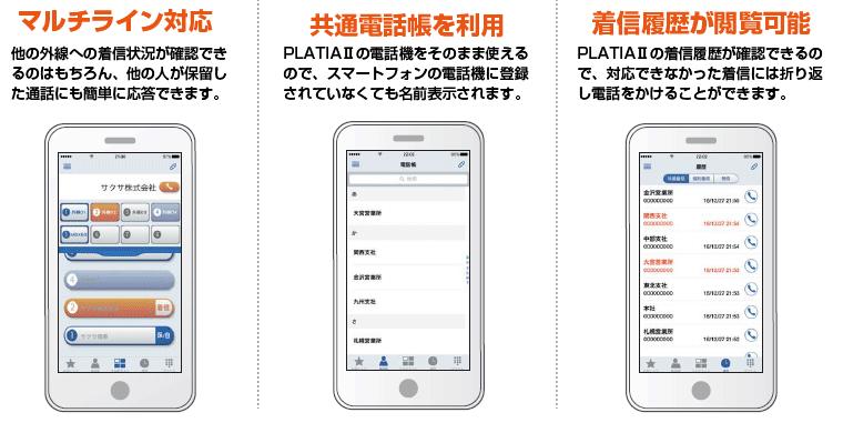 スマートフォン連携